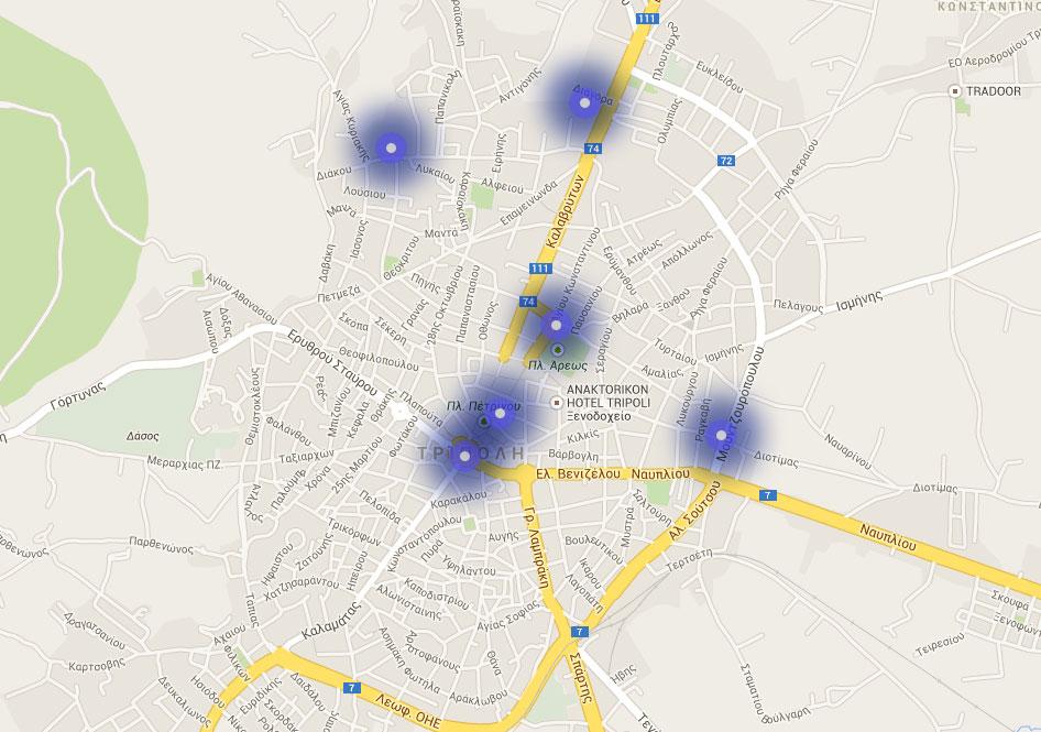 Ασύρματα δίκτυα – Πελοπόννησος